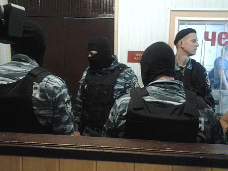 Райвідділок міліції у Врадіївці