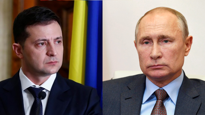 Зеленский поговорил с Путиным о ''тишине'' и децентрализации | Украинская  правда