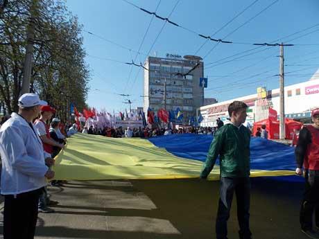 Опозиція провела марш у Чернігові