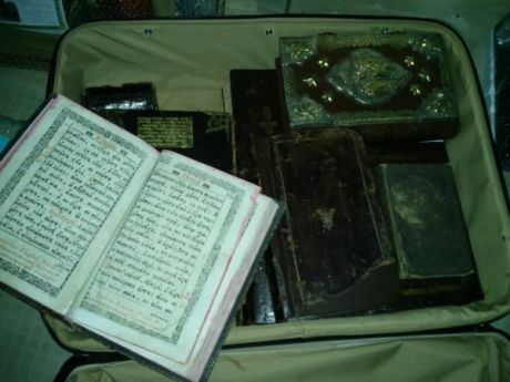 В Межигорье хранили ценные книги. Фото Дмитрия Гнапа