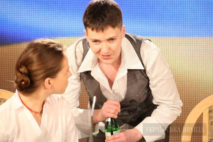 Надежда и Вера Савченко, 27 мая