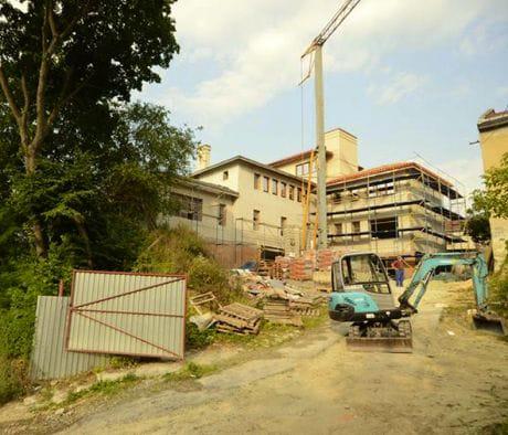Майбутній дім родини Садового, фото з його Facebook
