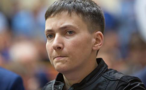 Допит Надії Савченко наполіграфі призупинили через стан її здоров'я— сестра