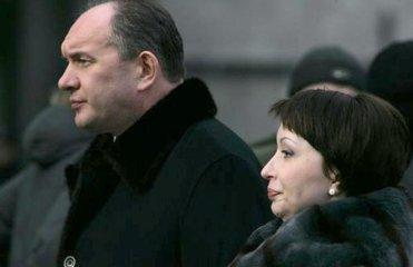 Олена Лукаш із чоловіком Григорієм Ілляшовим. Фото www.focus.in.ua