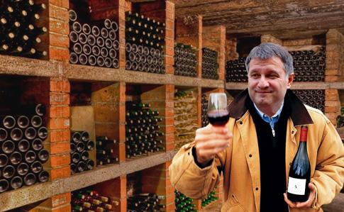 0049b86168fc Аваков пообещал показать свою коллекцию вина   Украинская правда