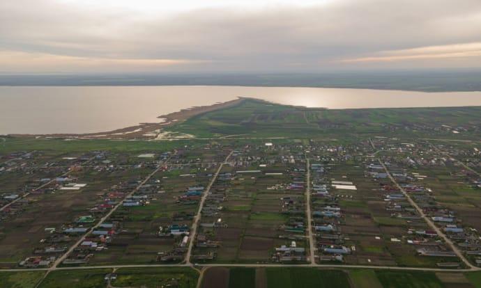 Озеро Ялпуг з повітря