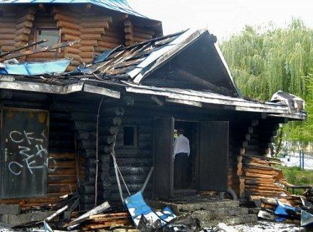 У Києві невідомі підпалили храм