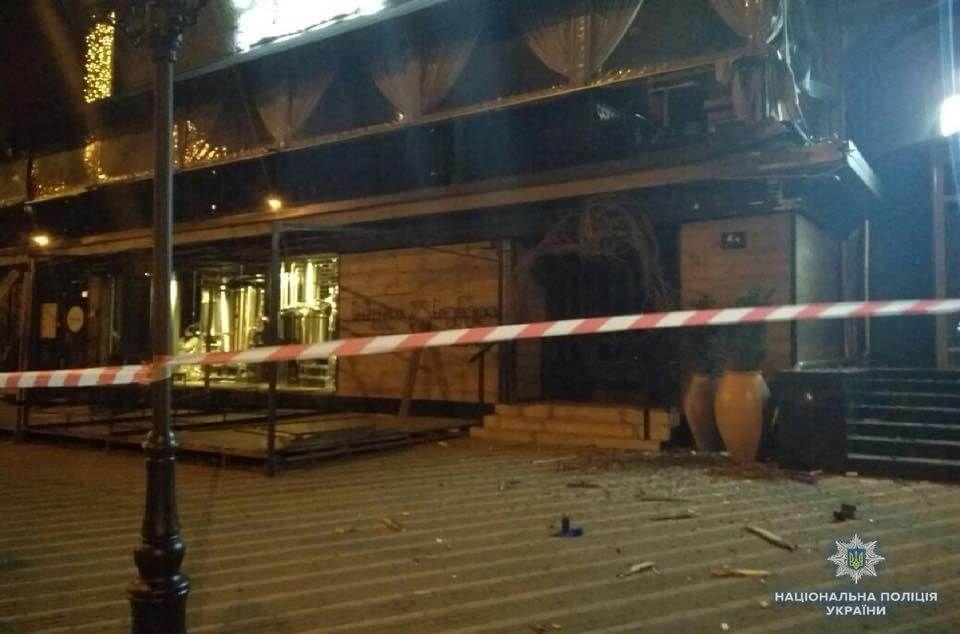 Будівлю «Київміськбуду» в Печерському районі столиці обстріляли з гранатомета