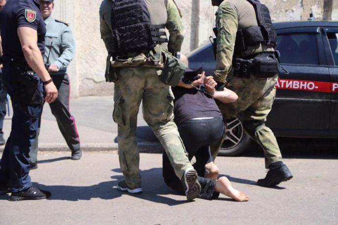 Бунт в Одесской колонии  №51