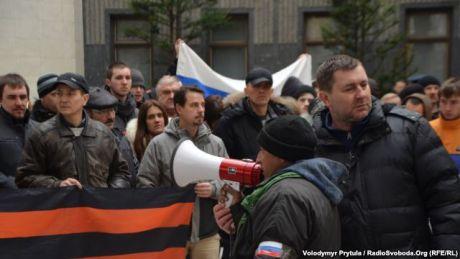 Крымский Совет заблокировали