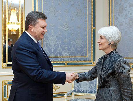 Янукович і Шерман