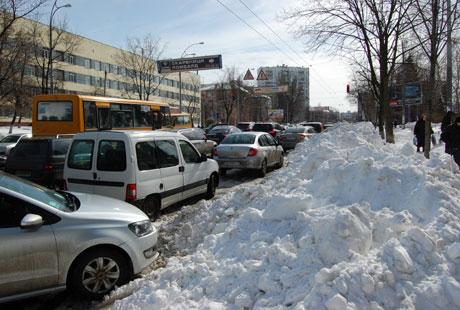 Пробки на Соломянской
