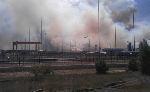 В Чернобыльской зоне вспыхнул лесной пожар | Украинская правда