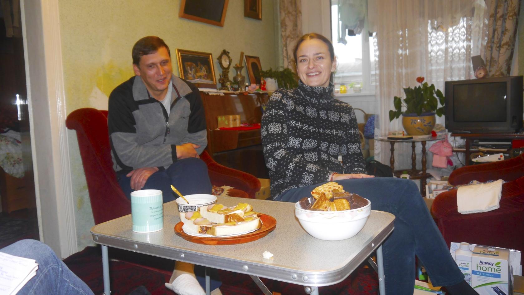 Батьки Ігор та Ірина Гурики
