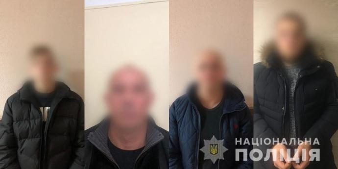 Поліція затримала чоловіків, яких підозрюють у бандитизмі на Київщині. Відео