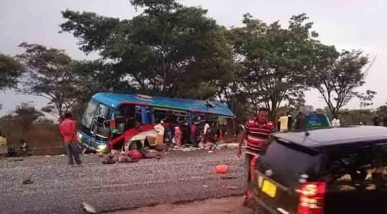 Зімбабве: урезультаті зіткнення двох автобусів загинули 47 людей