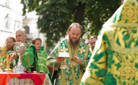 Літургію провів предстоятель Української православної церкви митрополит Володимир