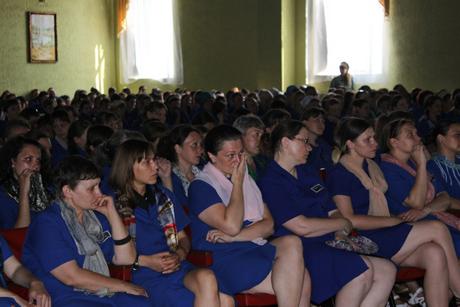 Концерт Гаврилюка в Качановской колонии. Фото пресс-службы ГПтС