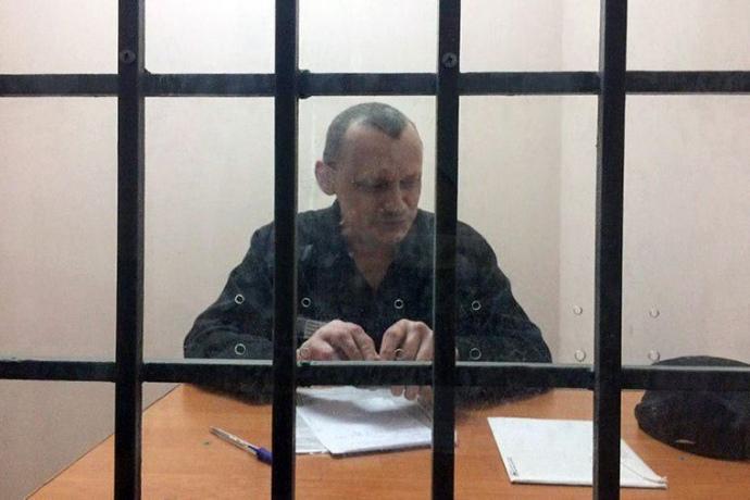 Микола Карпюк у колонії Т-2