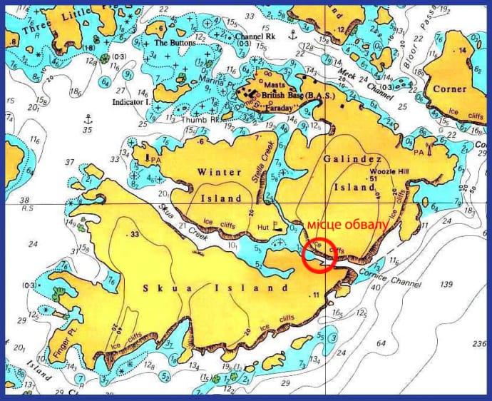 Антарктида: українські науковці зафіксували новий розкол льоду