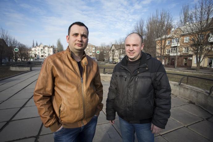 Евгений Патруль и Сергей Федько