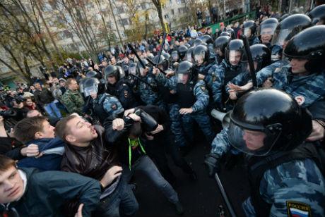 Бунт в России (видео)
