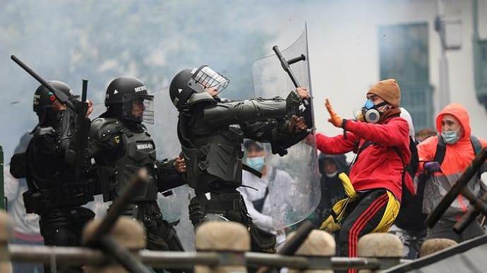 Протести у Колумбії: загинули 24 особи