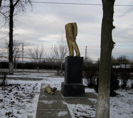 В Одесской области разбили Ленина