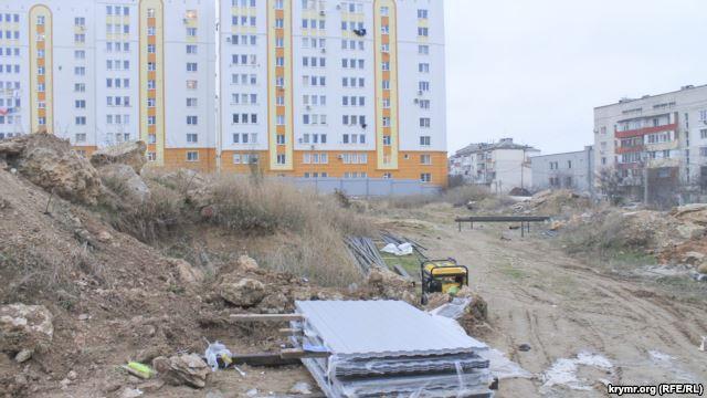 Севастопольцы против строительства дома для ФСБ