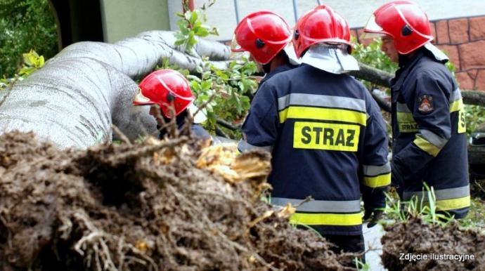Українець загинув через буревії в Польщі