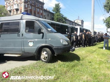 Міліція охороняє Марш рівності