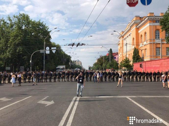 Центр Києва перекритий поліцією