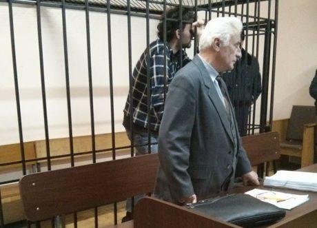 Притуленко, 21 рік, плакав у суді. Фото Дмитра Гнапа