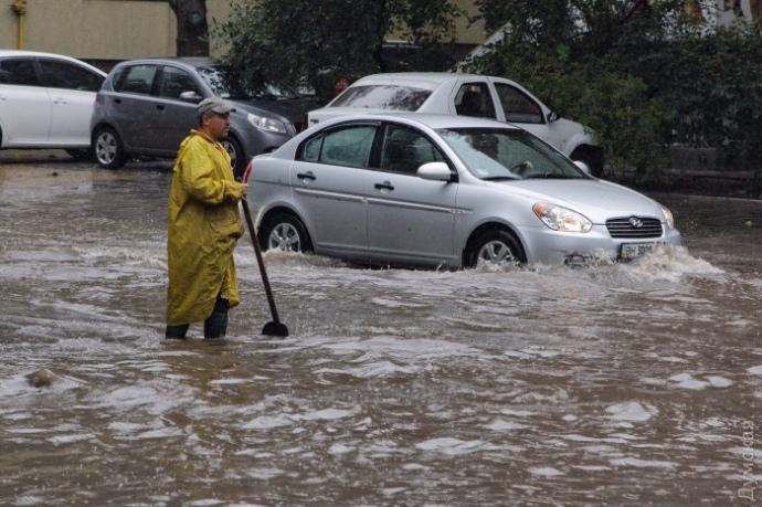 Одесу затопили дощі