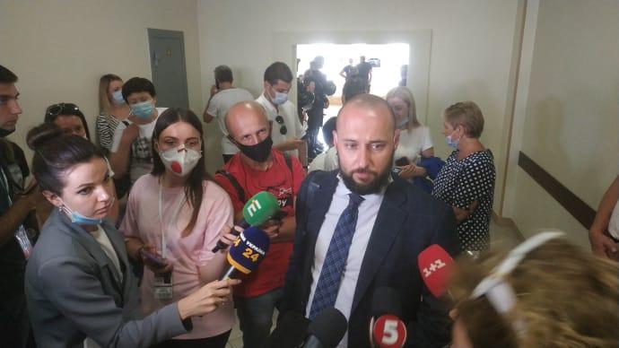 Адвокат лікарки Тарас Безпалий