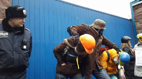 Міліція не перешкоджала діям активістів. Фото Азада Сафарова