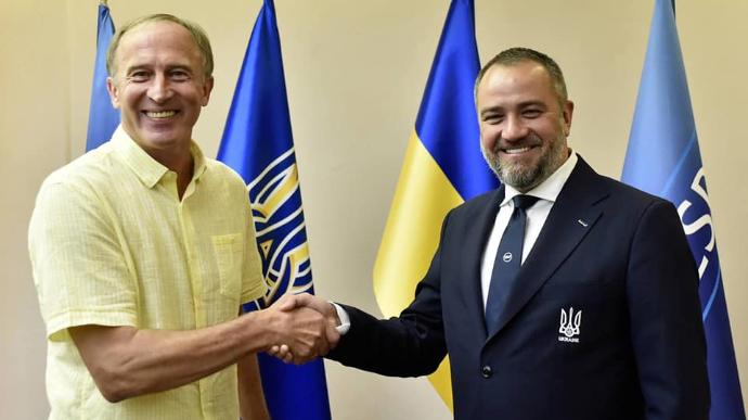 У збірної України з футболу новий тренер