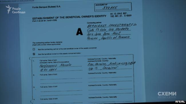 Документы, свидетельствующие о прямом отношеним Мартыненко к офшору Bradcrest Investments