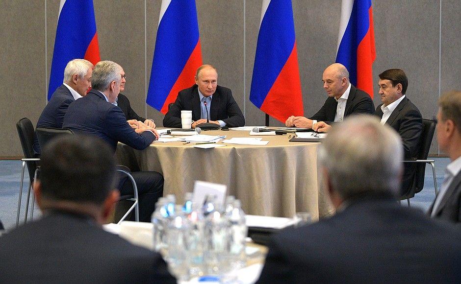 Путин проведёт совещание государственного совета вКрыму 23ноября