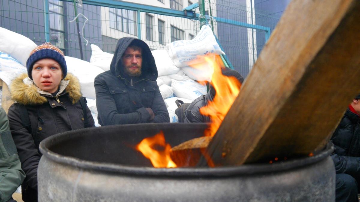 На блокаді Newsone журналісти УП помітили Віту Заверюху