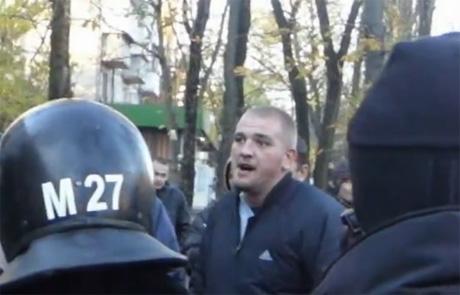 Журналист Пилипишина на 223 округе, похожий на Стрижака
