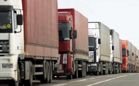Киев частично закрыли для грузовиков | Украинская правда