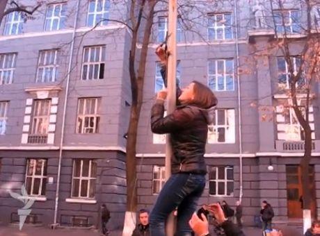Акція студентів у Одесі