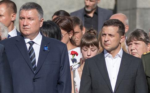 У Києві під Офісом президента від Зеленського вимагали відставки Авакова - Цензор.НЕТ 8193