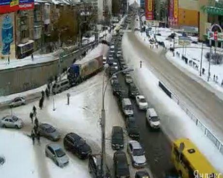 Пробки в Киеве, 26 марта, фото с Лига.net