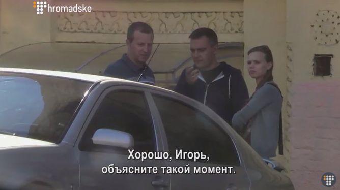 Ігор Устименко ліворуч