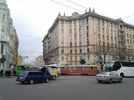 Повстання трамваїв у Харкові. Фото Тетяни Ніколаєнко