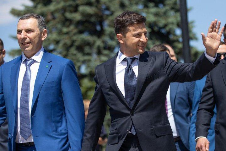 Сергій Шефір та Володимир Зеленський
