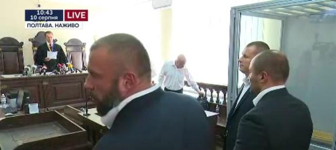 Суд по делу Кернеса в Полтаве