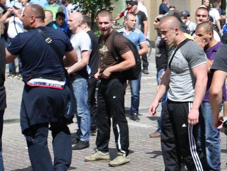 Джагінов на акції 18 травня. Фото Дмитра Ларіна